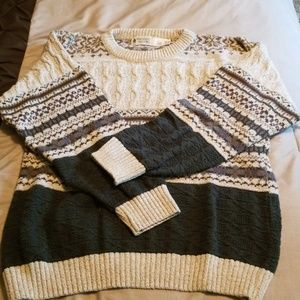 Men's ski sweater